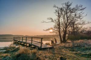 Sonnenaufgang am Ulmener Weiher
