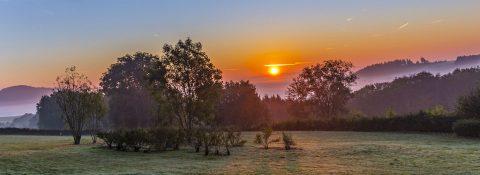 Sonnenuntergang Eifel