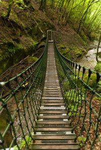 Wanderweg Eifelsteig in der Eifel