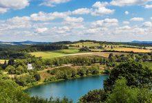 Eifel Landschaft mit Maar