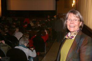 Ausverkauft: Christine Runge in ihrem Kino.