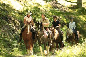 Wanderreiten Eifel zu Pferd