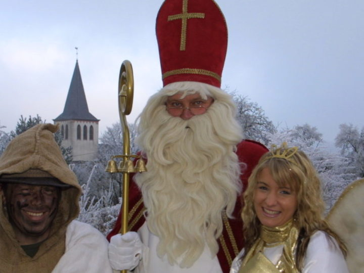 Es gibt ihn tatsächlich – den Nikolaus! Zumindest in der Eifel…